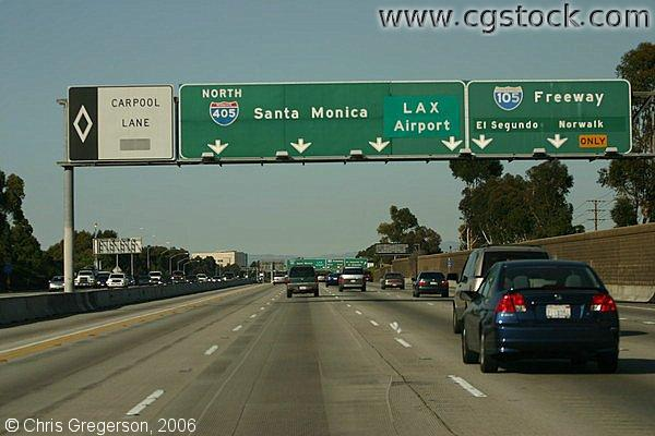 The 405 in Los Angeles