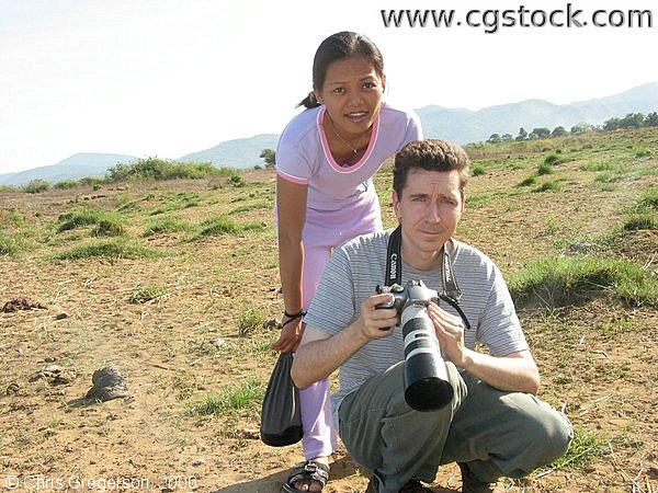 Couple Taking Photographs in Ilocos Norte