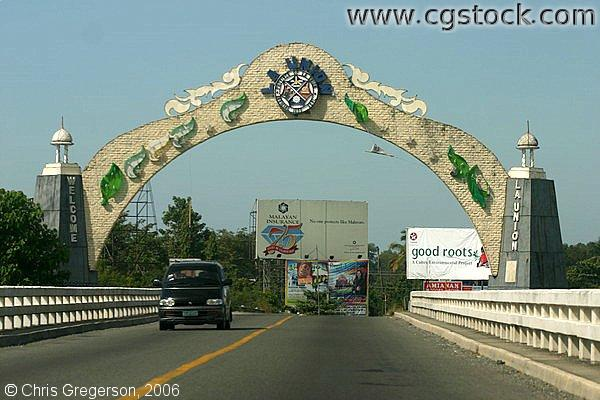 La Union Philippines  city pictures gallery : stock photo The Welcome Arch of La Union, Philippines