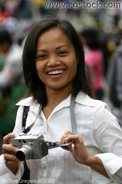 The Lovely Arlene near Baguio Public Market, Baguio City, Philippines