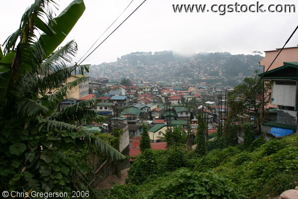 Residences at the Lowland and Hillsides of Baguio City