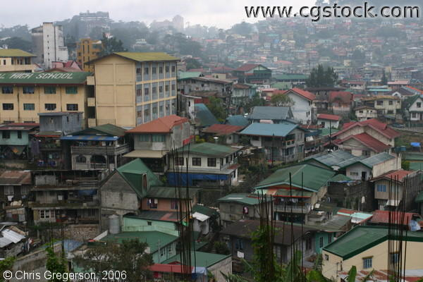 Neighborhood of Residents at the Lowlands of Baguio City