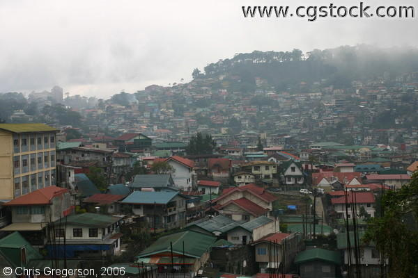 Residences at the Lowlands and Hillsides of Baguio City
