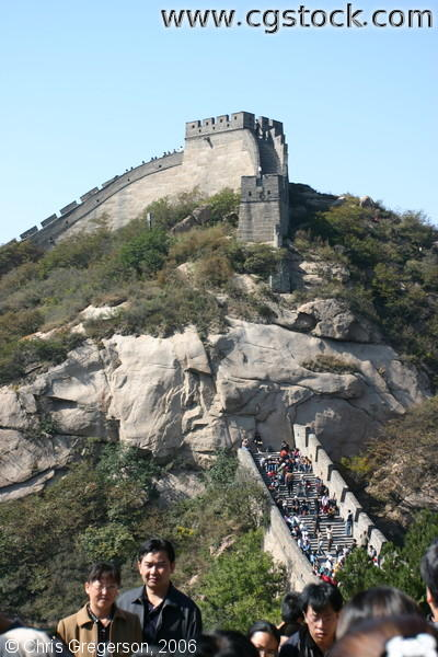 Watchtower Near the Badaling Great Wall Entrance