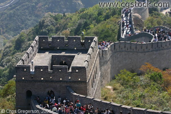 Watchtower of the Great Wall of China near Badaling