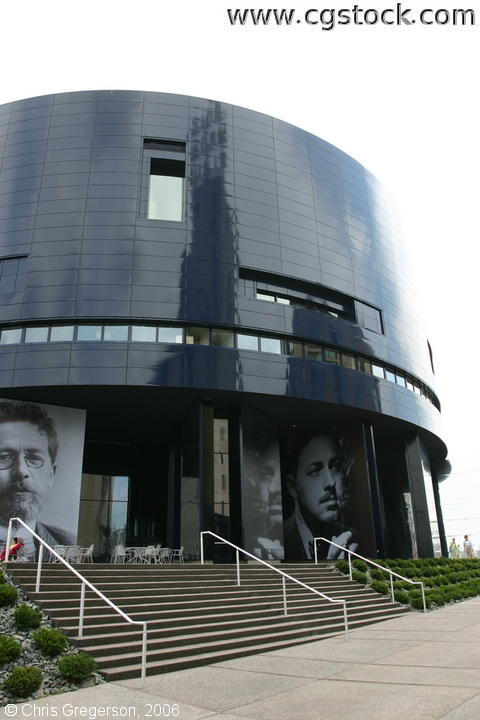 Entrance to the New Guthrie Theater, Minneapolis
