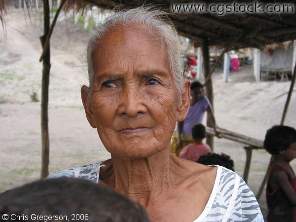 Old Woman in Aeta Village, Pampanga