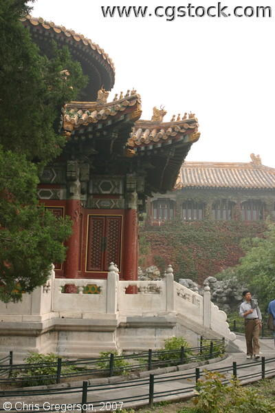 The Pavilion of 1,000 Autumns inside the Forbidden City, China
