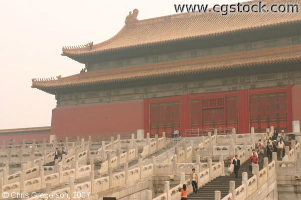 Hall of Preserving Harmony Rear, Forbidden City, China