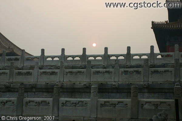 Sunset at the Forbidden City, Beijing, China