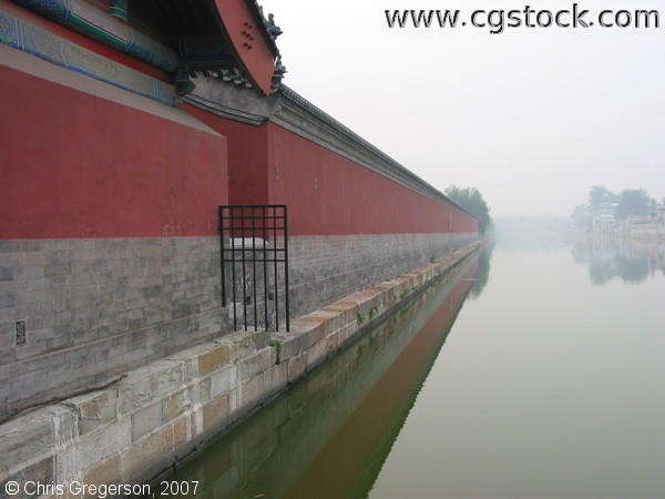 Moat at the East Side of the Forbidden City
