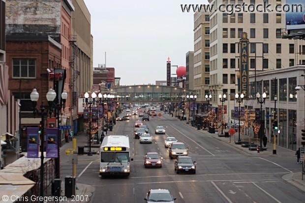 Cgstock Com Thumbnails Of Hennepin Avenue In Downtown