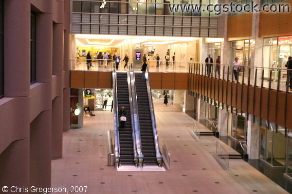 Inside City Center Atrium, Minneapolis