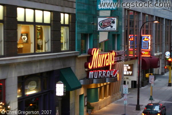 Murray's Steak House, 6th Street, Minneapolis