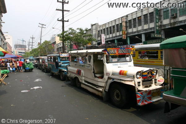 Jeepney Traffic in Divisoria