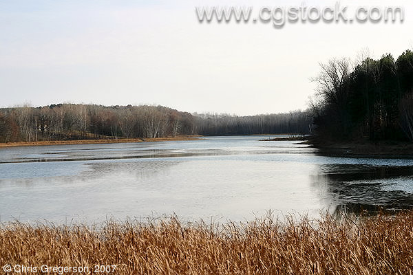 Turtle Lake in Fall, St. Croix County, WI