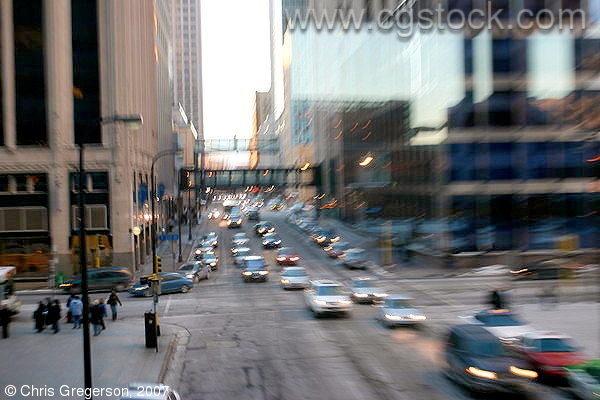 Rush Hour, 6th Street and 2nd Avenue, Minneapolis