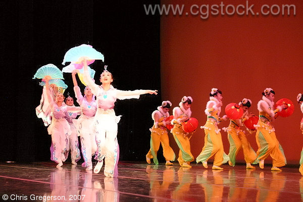 RFDZ Dancers Performing Chinese Spring Festival Celebration