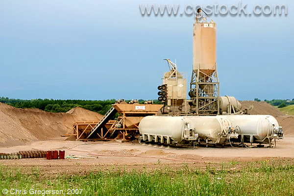 Gravel Pit/Mixer in Wisconsin