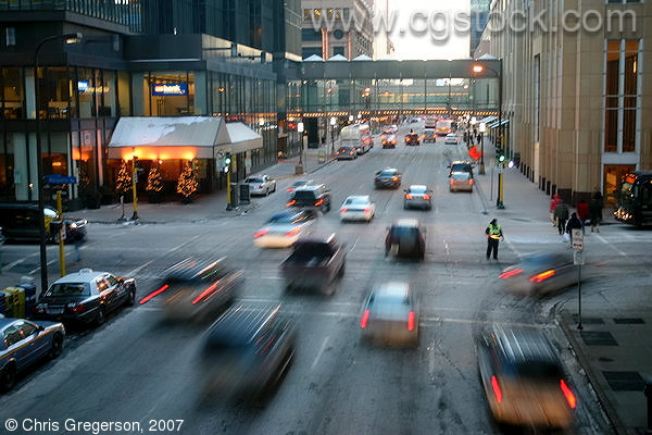 Rush Hour, Marquette and 7th Street