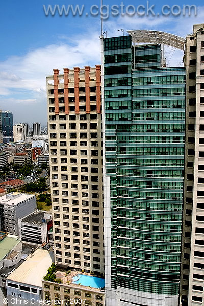 Residential High-Rises in Makati, Manila