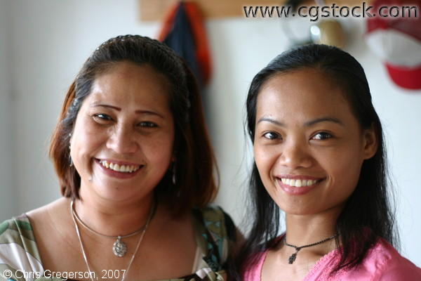 Two Filipina Women in Wisconsin