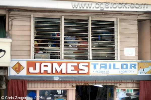 James Tailor (Funny Tailor Shop Name), Laoag, the Philippines
