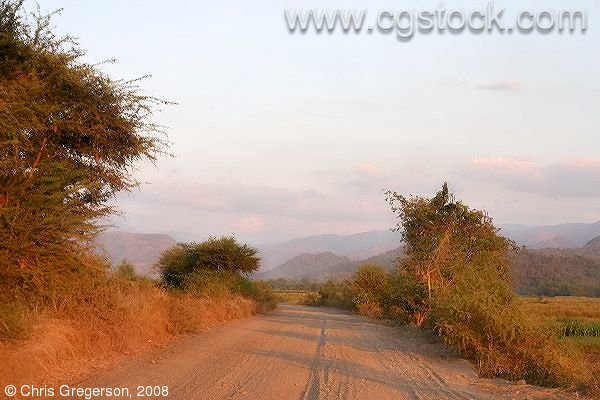 Gravel Road to Las-Ud, Badoc, Ilocos Norte