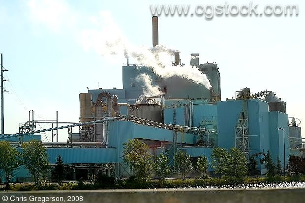 Abitibi Consolidated, a Canadian Paper Mill