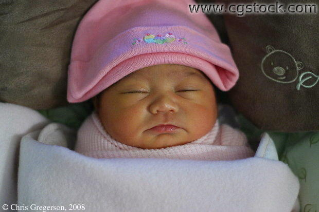 Cute Newborn Sleeping