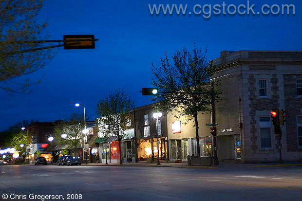 New Richmond Main Street at Night