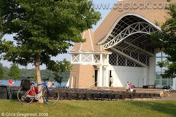 Bandshell and Seats, Lake Harriet