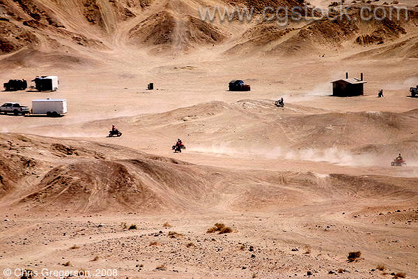 Motorcycle/Motocross Riders in Anza-Borrego Desert State Park