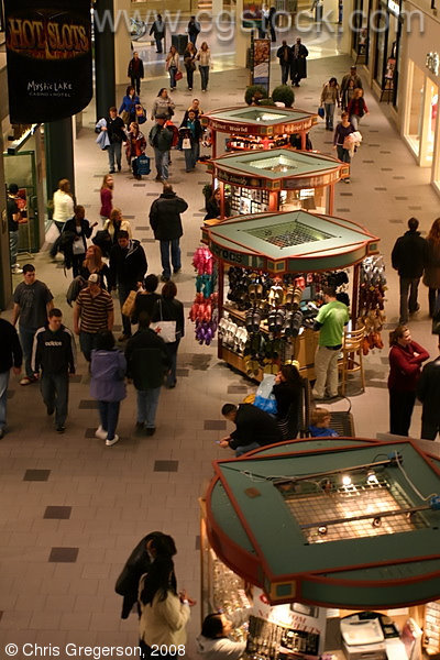 Kiosks at the Mall of America