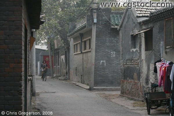 Hutong Lane in Central Beijing