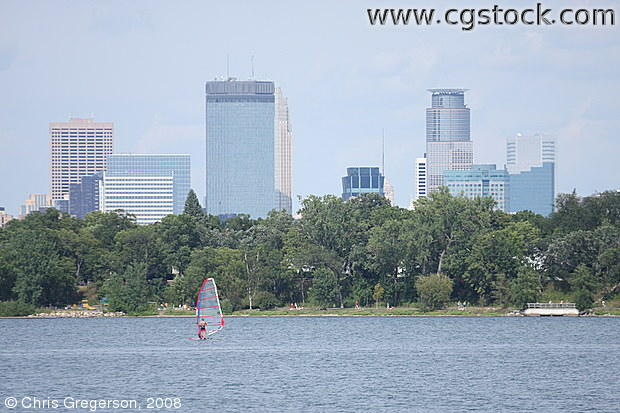 Minneapolis Skyline from Lake Calhoun