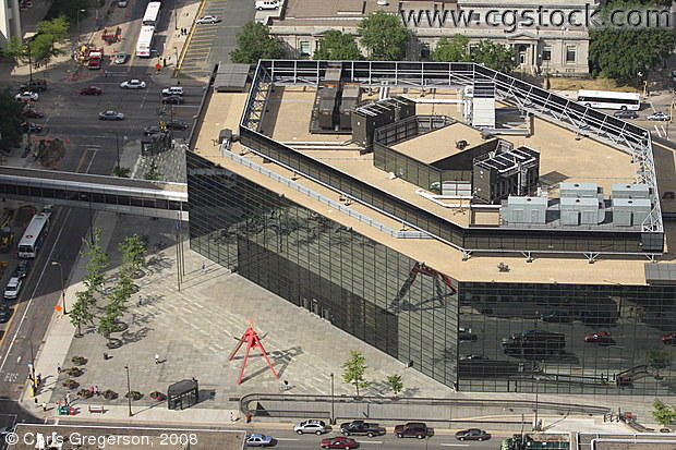 Overhead View of Wells Fargo Operations Center, Minneapolis