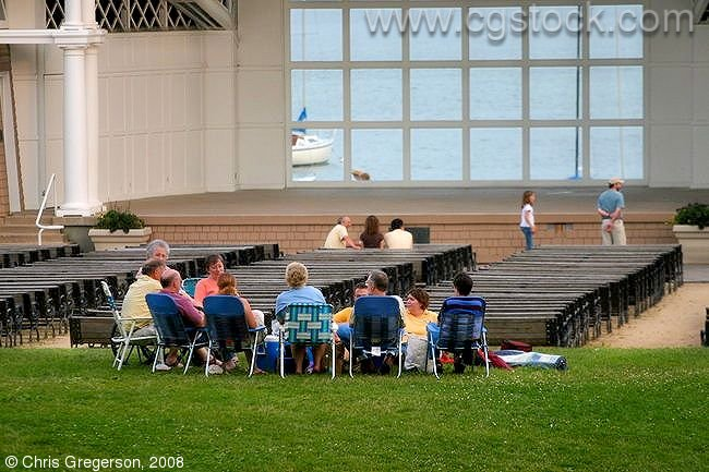 Lake Harriet Bandshell Audience