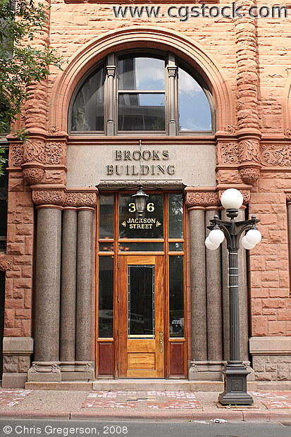 Brooks Building, Jackson Street, St. Paul, MN