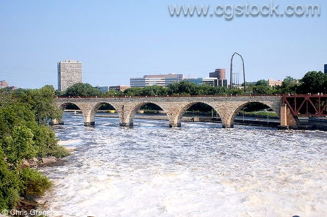 Stone Arch Bridge, Mississippi River, Minneapolis