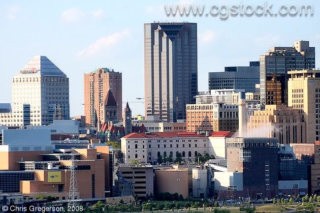 Close-Up of Downtown St. Paul