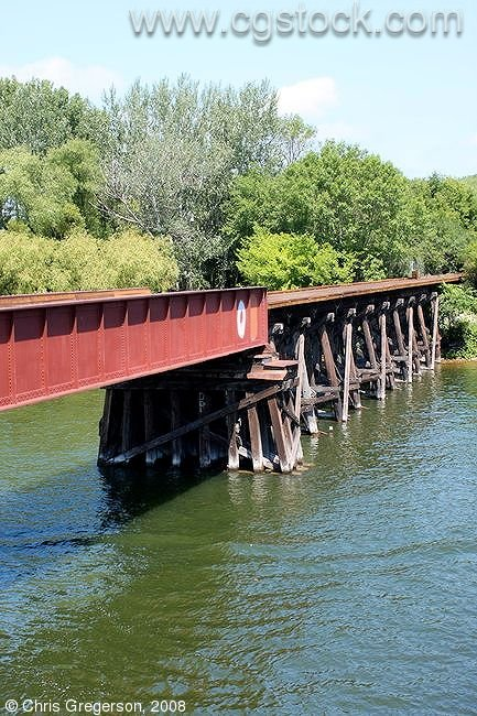 Railroad Bridge, Lake Minnetonka, Minnesota