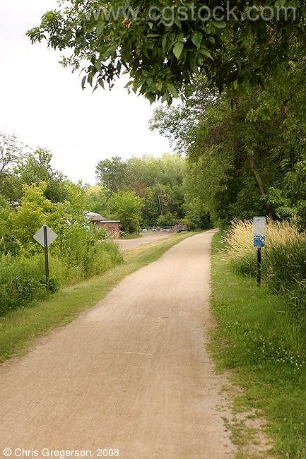 Bike Trail in Excelsior, Minnesota