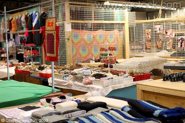 Clothing and Fabric Vendors, International Market Place