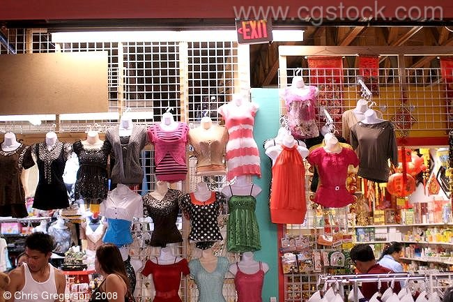 Clothing Display, International Market Place