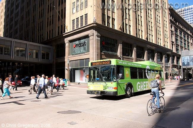 Nicollet and 8th Street, Downtown Minneapolis