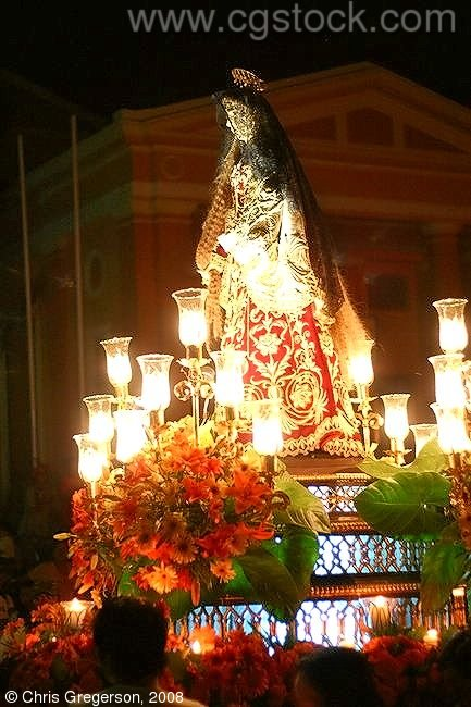 Carroza of Saint Mary, Good Friday Parade, the Philippines
