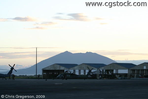 Clark Air Base and Mount Arayat, Angeles City, the Philippines