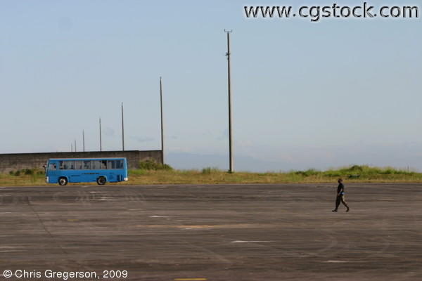 Tarmac at Clark Air Base, the Philippines