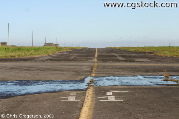Runway, Clark Air Base, the Philippines